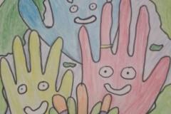 025_Гордеева Алиса, 4 года, Гордеев Артемий 6 лет, МБДОУ ДС №37 Солнышко, Радость на ладошке