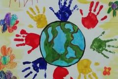057_Коллективная работа старшая группа «Знайки» МБДОУ ДС №22 Искорка, Счастливое детство