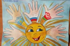 067_Куржимбаев Арлан, 4 года, МБДОУ ДС №38 Лесовичок, Миру мир!
