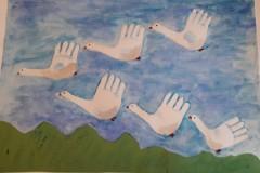 076_Макарова Алена, 4 года, МБДОУ дс №12 Брусничка, Белые лебеди