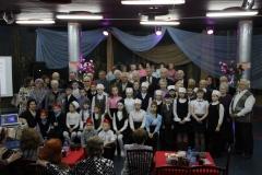 Участники вечера посвященного дню защитника отечества
