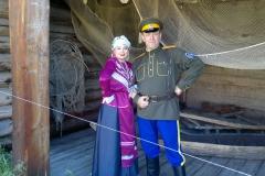 муж и жена - солисты ансамбля