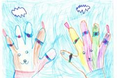 007_Антипина Даша, 5 лет, МБДОУ ДС №22 Искорка, «Дружные зайчики» 006
