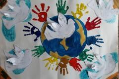 055_Коллективная работа 4-5 лет МБДОУ ДС №37 Солнышко, Мы за мир на планете