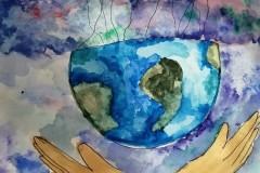 075_Макарова Александра, 11 лет, МАОУ СОШ №11, Земля на дружбе народов держится
